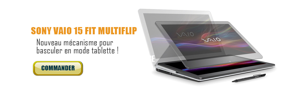 sony vaio 15 Fit multiflip
