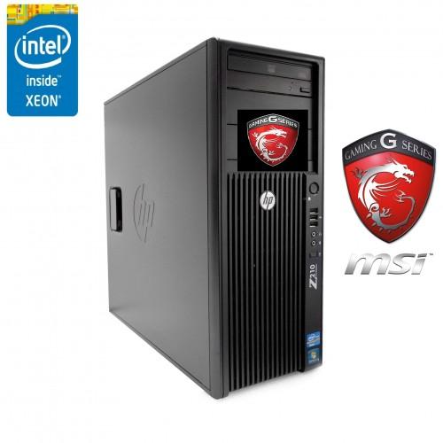 Station gamer HP core i7 et GTX1050