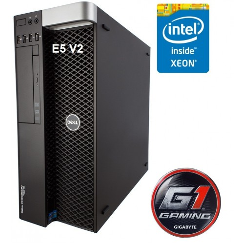 Station gamer Hybrid Dell and Gigabyte GTX 1060