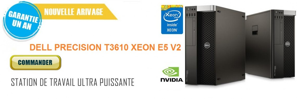 Workstation Dell Precision T3610 Xeon E5 V2