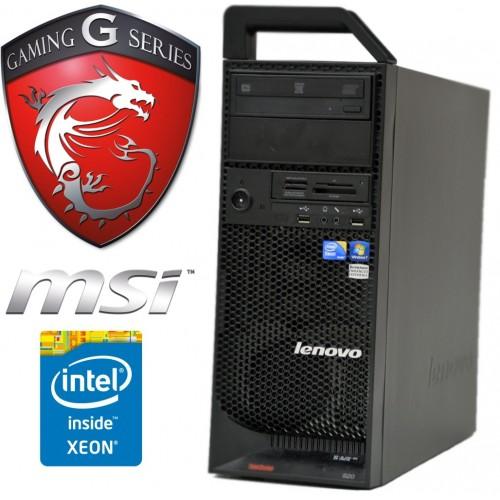 Station gamer Lenovo 8 processeurs and GTX 1050